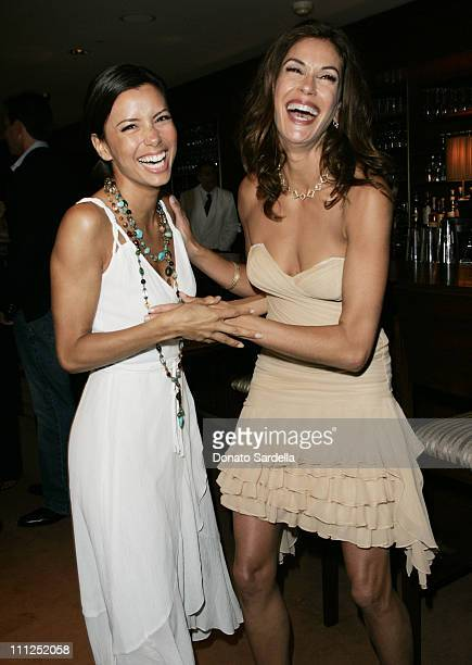 Eva Longoria and Teri Hatcher during Bob Iger President/COO of The Walt Disney Company and Willow Bay Together with La Mer Celebrate Hyperion's...