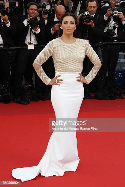 Eva Longoria arrives at 'Cafe Society' Opening Gala of the 69th Annual Cannes Film Festival on May 11 2016 in Cannes