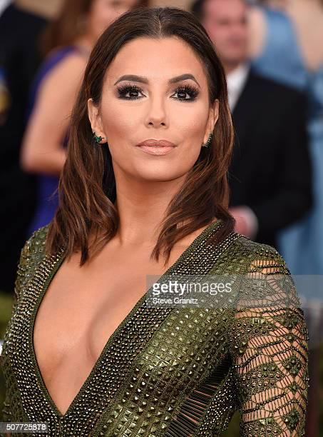 Eva Longoria arrives at the 22nd Annual Screen Actors Guild Awards at The Shrine Auditorium on January 30 2016 in Los Angeles California