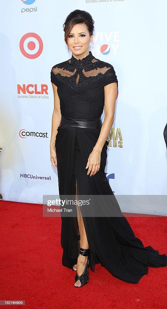 Eva Longoria arrives at the NCLR 2012 ALMA Awards held at Pasadena Civic Auditorium on September 16, 2012 in Pasadena, California.