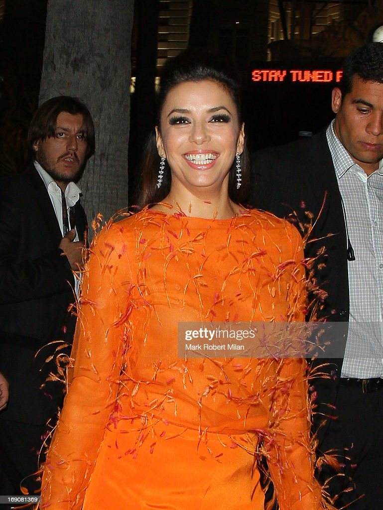 <a gi-track='captionPersonalityLinkClicked' href=/galleries/search?phrase=Eva+Longoria&family=editorial&specificpeople=202082 ng-click='$event.stopPropagation()'>Eva Longoria</a> at Nikki beach club during the 66th Annual Cannes Film Festival on May 19, 2013 in Cannes, France.