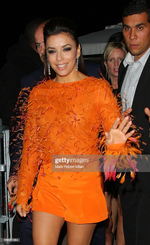Eva Longoria at Nikki beach club during the 66th Annual Cannes Film Festival on May 19, 2013 in Cannes, France.