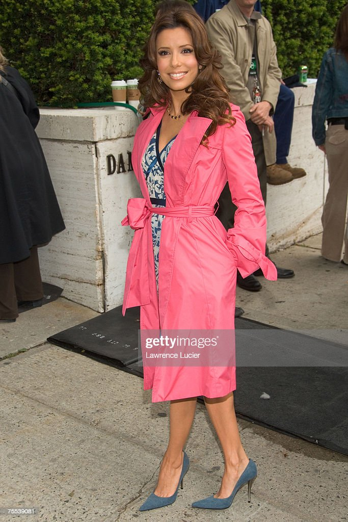 Eva Longoria at the ABC Upfront 2006/2007 - Arrivals at Lincoln Center in New York, NY.