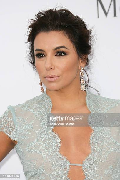 Eva Longoria attends amfAR's 22nd Cinema Against AIDS Gala Presented By Bold Films And Harry Winston at Hotel du CapEdenRoc on May 21 2015 in Cap...