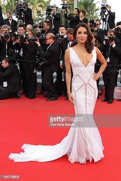 Eva Longoria attends 'De Rouille et D'os' Premiere at Palais des Festivals on May 17 2012 in Cannes France