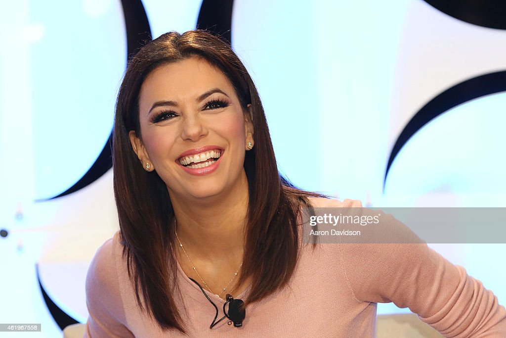 Eva Longoria attends Global Navigators Sharpening the Focus How US Networks Are Engaging the Hispanic Audience on day 3 of NATPE 2015 at...