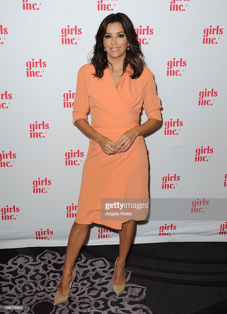 Eva Longoria attends the 2014 Girls Inc Los Angeles Celebration Luncheon at The Beverly Hilton Hotel on November 19 2014 in Beverly Hills California