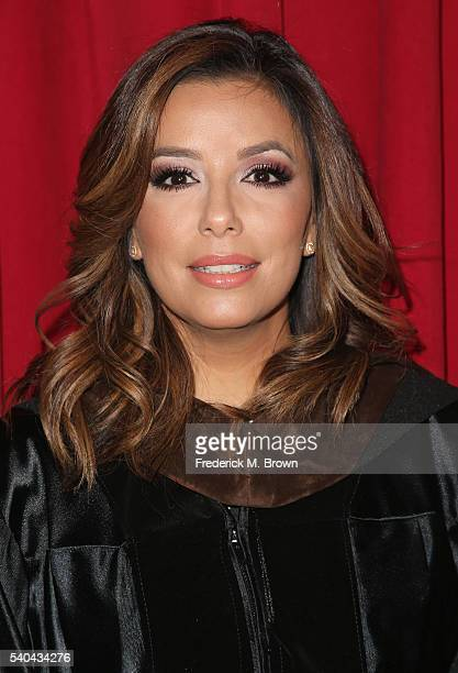 Eva Longoria attends the 2016 AFI Conservatory commencement ceremony at TCL Chinese Theatre on June 15 2016 in Hollywood California The American Film...