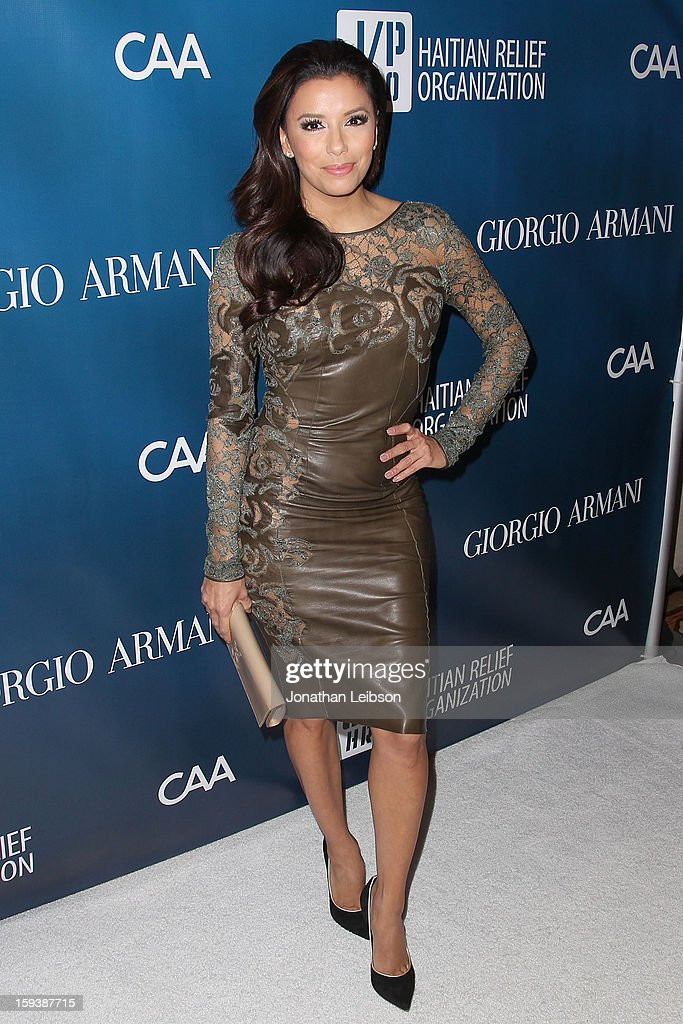<a gi-track='captionPersonalityLinkClicked' href=/galleries/search?phrase=Eva+Longoria&family=editorial&specificpeople=202082 ng-click='$event.stopPropagation()'>Eva Longoria</a> attends the 2nd Annual Sean Penn & Friends Help Haiti Home Presented By Giorgio Armani - A Gala To Benefit J/P HRO - Arrivals at Montage Beverly Hills on January 12, 2013 in Beverly Hills, California.