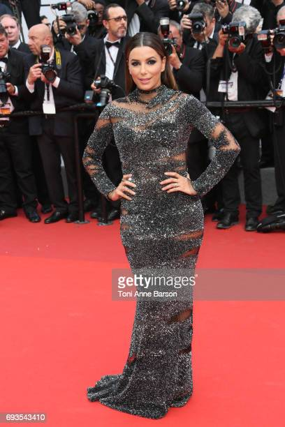 Eva Longoria attends the 70th anniversary event during the 70th annual Cannes Film Festival at Palais des Festivals on May 23 2017 in Cannes France