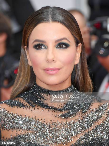 Eva Longoria attends the 70th Anniversary of the 70th annual Cannes Film Festival at Palais des Festivals on May 23 2017 in Cannes France