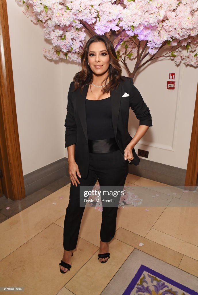 Eva Longoria attends the 8th Global Gift Gala London in aid of Great Ormond Street Hospital Children's Charity at Corinthia Hotel London on November 18, 2017 in London, England.