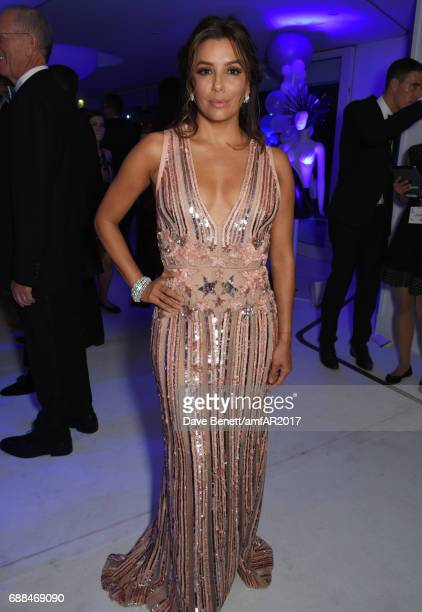 Eva Longoria attends the amfAR Gala Cannes 2017 at Hotel du CapEdenRoc on May 25 2017 in Cap d'Antibes France