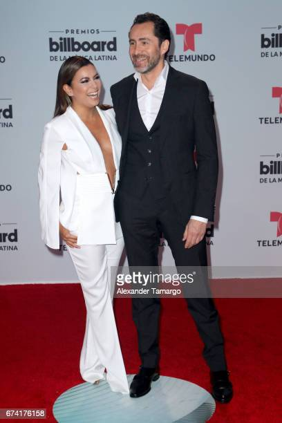 Eva Longoria attends the Billboard Latin Music Awards at Watsco Center on April 27 2017 in Coral Gables Florida