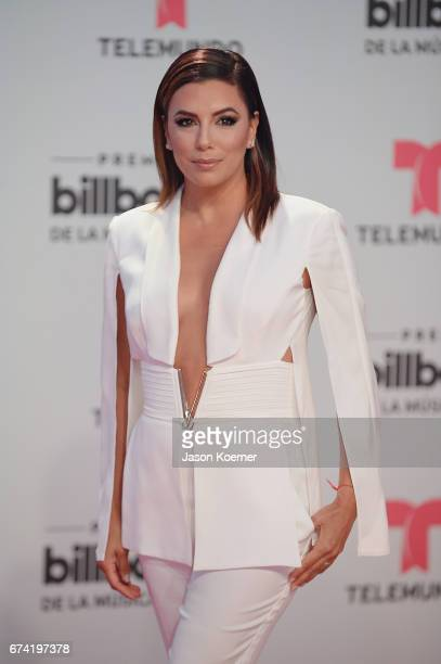 Eva Longoria attends the Billboard Latin Music Awards at Watsco Center on April 27 2017 in Miami Florida