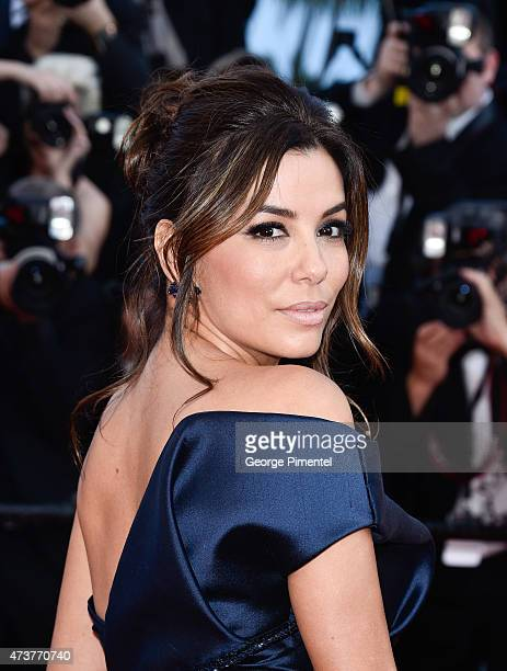 Eva Longoria attends the 'Carol' Premiere during the 68th annual Cannes Film Festival on May 17 2015 in Cannes France