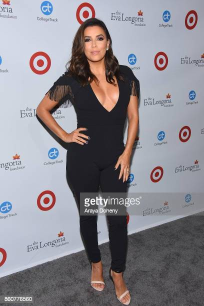 Eva Longoria attends the Eva Longoria Foundation Annual Dinner at Four Seasons Hotel Los Angeles at Beverly Hills on October 12 2017 in Los Angeles...