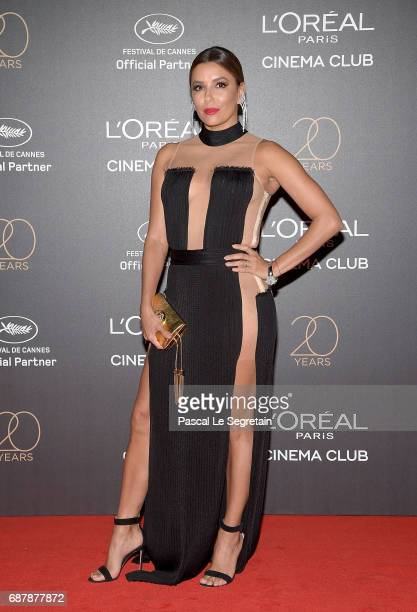 Eva Longoria attends the Gala 20th Birthday Of L'Oreal In Cannes during the 70th annual Cannes Film Festival at Martinez Hotel on May 24 2017 in...