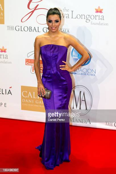 Eva Longoria attends the Global Gift Gala 2012 at Gran Melia Resort Don Pepe on August 19 2012 in Marbella Spain The Global Gift Gala is hosted by...