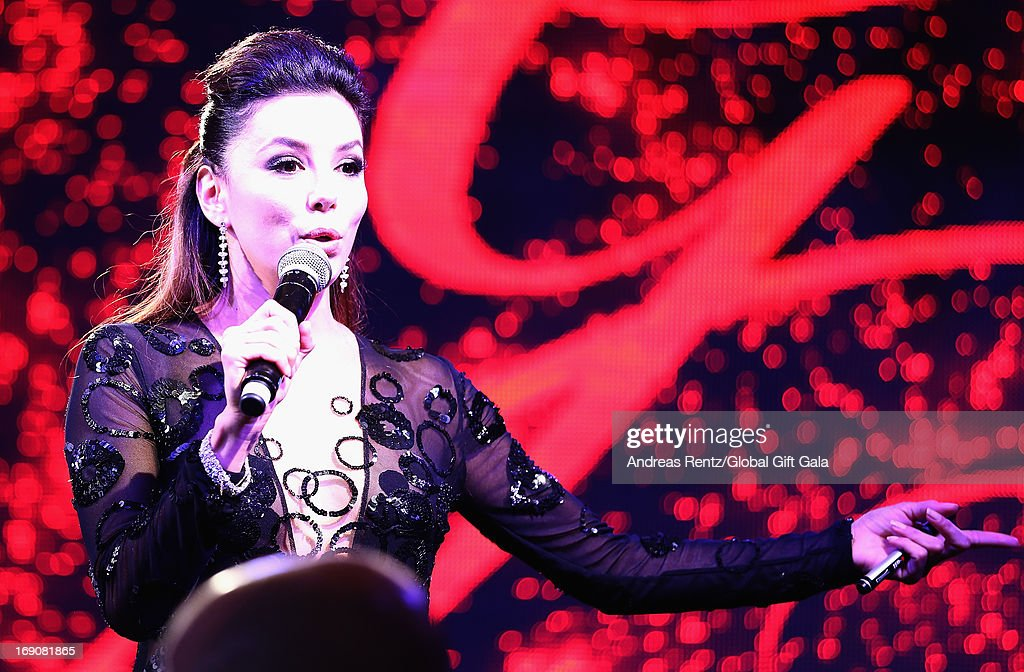 <a gi-track='captionPersonalityLinkClicked' href=/galleries/search?phrase=Eva+Longoria&family=editorial&specificpeople=202082 ng-click='$event.stopPropagation()'>Eva Longoria</a> attends the 'Global Gift Gala' 2013 dinner and auction presented by <a gi-track='captionPersonalityLinkClicked' href=/galleries/search?phrase=Eva+Longoria&family=editorial&specificpeople=202082 ng-click='$event.stopPropagation()'>Eva Longoria</a> at Carlton Hotel on May 19, 2013 in Cannes, France.