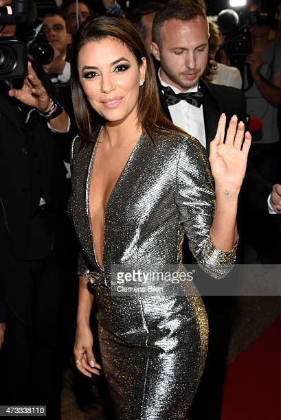 Eva Longoria attends the Global Gift Gala during the 68th annual Cannes Film Festival on May 14 2015 in Cannes France