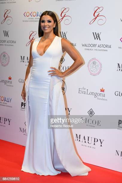 Eva Longoria attends The Global Gift Gala Edinburgh at The Caledonian Hotel on May 17 2017 in Edinburgh Scotland
