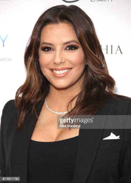 Eva Longoria attends The Global Gift Gala London held at Corinthia Hotel London on November 18 2017 in London England