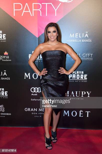 Eva Longoria attends the Global Gift Party Marbella on July 15 2017 in Marbella Spain