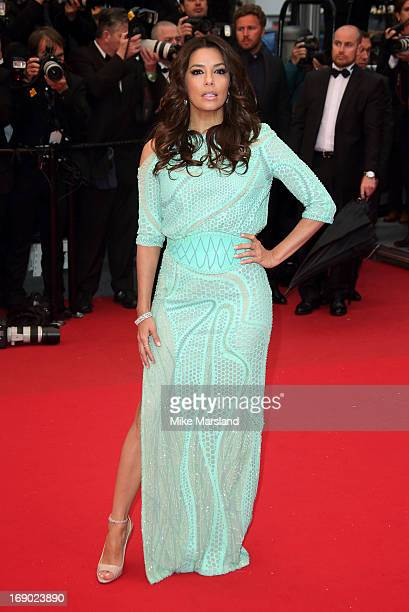 Eva Longoria attends the Premiere of 'Jimmy P ' at The 66th Annual Cannes Film Festival on May 18 2013 in Cannes France