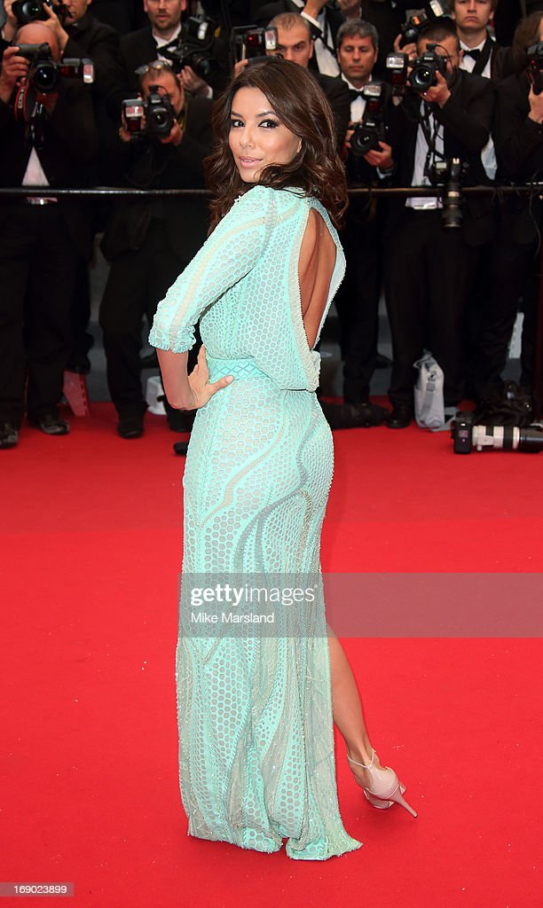 Eva Longoria attends the Premiere of 'Jimmy P. (Psychotherapy Of A Plains Indian)' at The 66th Annual Cannes Film Festival on May 18, 2013 in Cannes, France.