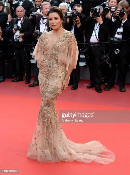 Eva Longoria attends the 'The Killing Of A Sacred Deer' screening during the 70th annual Cannes Film Festival at Palais des Festivals on May 22 2017...