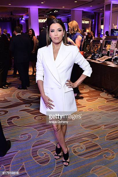Eva Longoria attends the The Paley Center for Media's Hollywood Tribute to Hispanic Achievements in Television at the Beverly Wilshire Four Seasons...