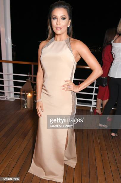 Eva Longoria attends the Vanity Fair and HBO Dinner celebrating the Cannes Film Festival at Hotel du CapEdenRoc on May 20 2017 in Cap d'Antibes France