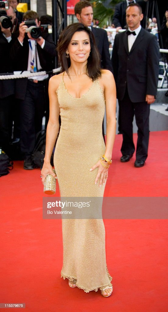 Eva Longoria during 2005 Cannes Film Festival - 'Where the Truth Lies' Premiere at Palais des Festival in Cannes, France.