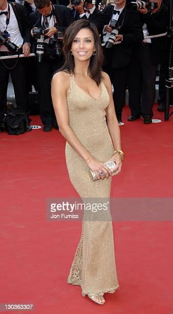 Eva Longoria during Cannes 2005 Film Festival 'Where The Truth Lies' Premiere at Palais Du Festival in Cannes France