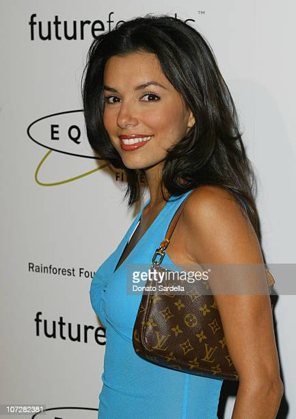 Eva Longoria during Opening of the 1st Los Angeles Equinox Fitness Club to Benefit the Rainforest Foundation and Futureforests at Equinox Fitness...