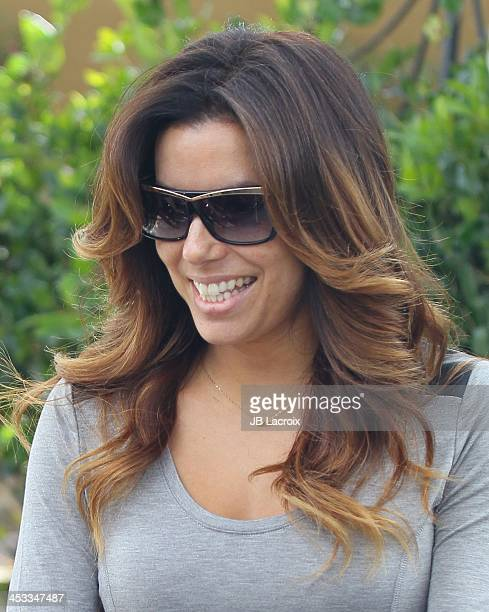 Eva Longoria is seen on December 3 2013 in Los Angeles California