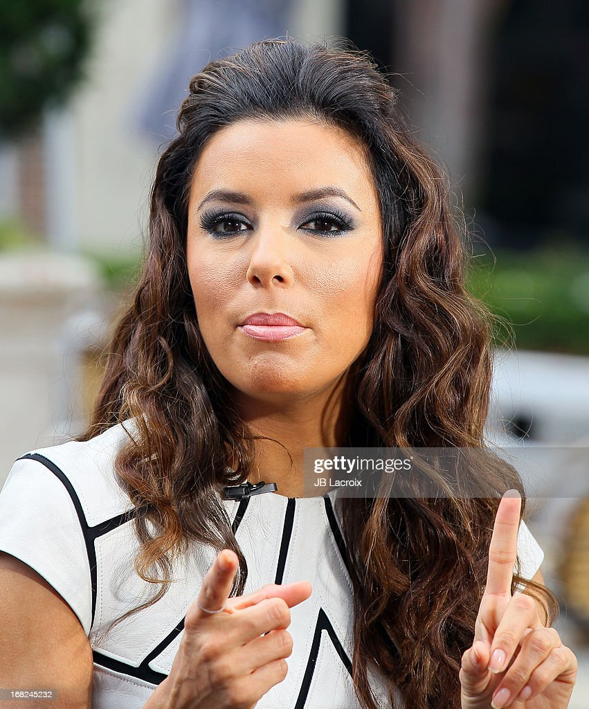 Eva Longoria is seen on May 7, 2013 in Los Angeles, California.