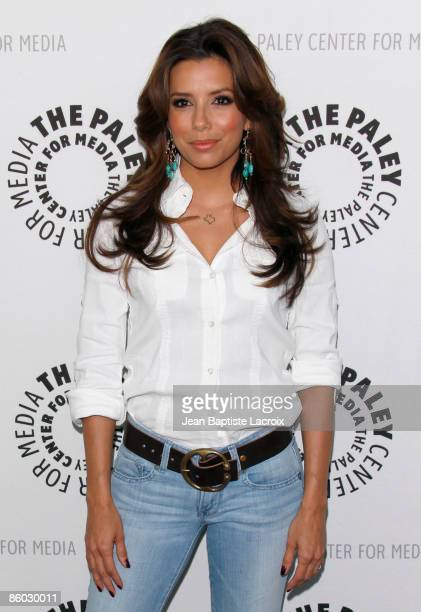 Eva Longoria Parker arrives at the ''Desperate Housewives'' event during PaleyFest09 at the ArcLight Theaters on April 18 2009 in Los Angeles...