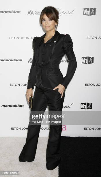 Eva Longoria Parker arriving for the 17th annual Sir Elton John AIDS Foundation Oscar Party held at the Pacific Design Center in West Hollywood...