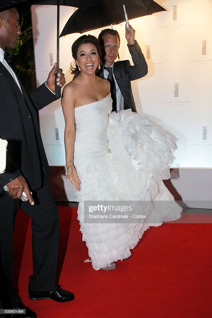 Eva Longoria Parker at the Opening Dinner during the 63rd Cannes International Film Festival.