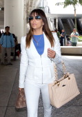 Eva Longoria seen at LAX airport on March 21 2014 in Los Angeles California