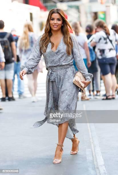 Eva Longoria seen on August 9 2017 in New York City