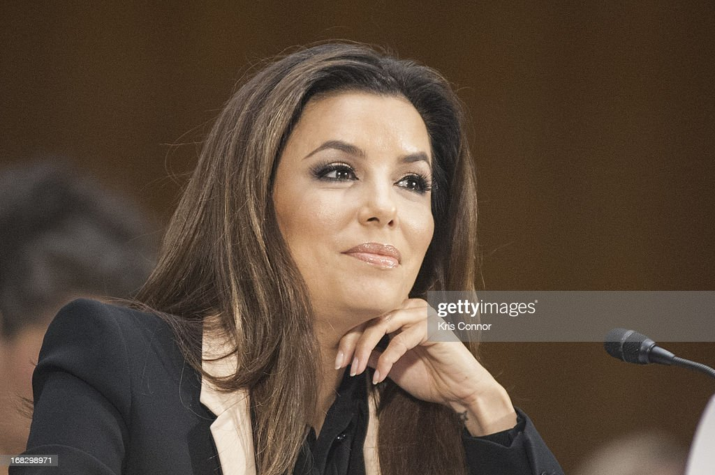 <a gi-track='captionPersonalityLinkClicked' href=/galleries/search?phrase=Eva+Longoria&family=editorial&specificpeople=202082 ng-click='$event.stopPropagation()'>Eva Longoria</a> speaks during the Senate Small Business and Entrepreneurship Committee at Dirksen Senate Office Building on May 8, 2013 in Washington, DC.