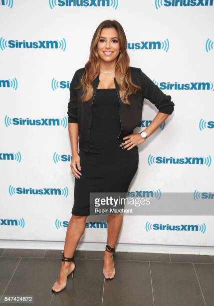 Eva Longoria visits at SiriusXM Studios on September 15 2017 in New York City