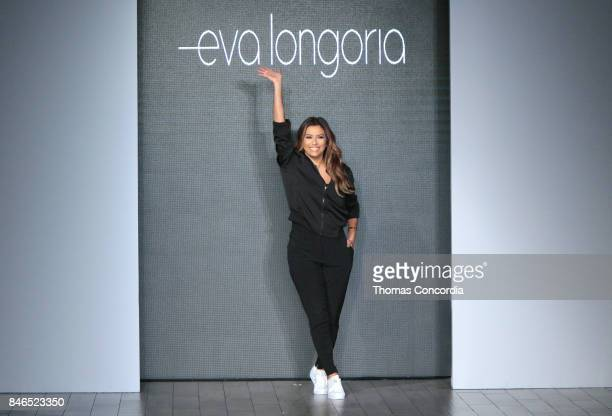 Eva Longoria walks the runway at Kia STYLE360 Hosts Eva Longoria Collection at Metropolitan West on September 13 2017 in New York City