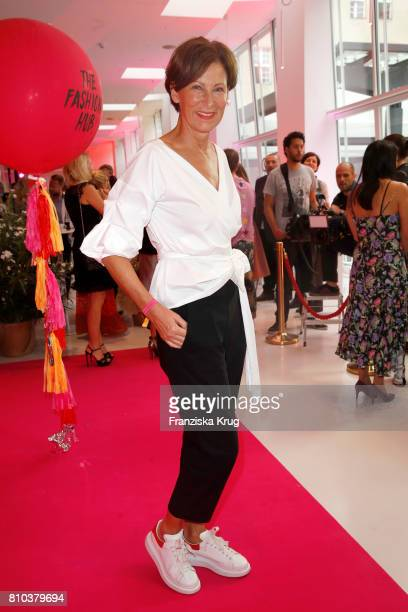 Eva Lutz attends the Gala Fashion Brunch during the MercedesBenz Fashion Week Berlin Spring/Summer 2018 at Ellington Hotel on July 7 2017 in Berlin...