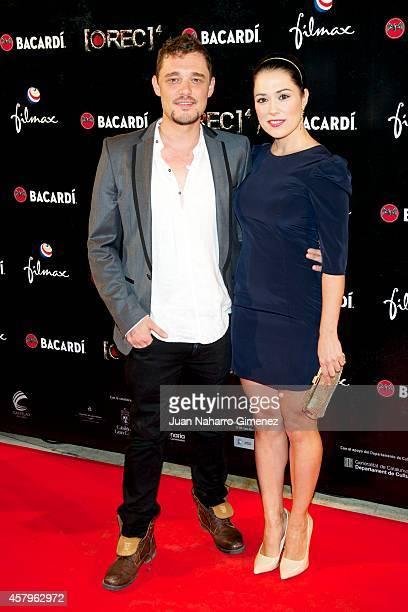 Eva Marciel attends 'REC 4' premiere at Capitol Cinema on October 27 2014 in Madrid Spain