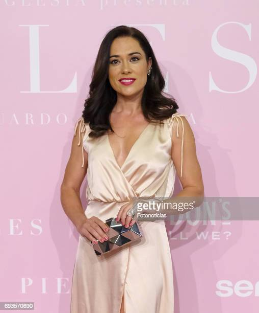 Eva Marciel attends the 'Pieles' premiere pink carpet at Capitol cinema on June 7 2017 in Madrid Spain