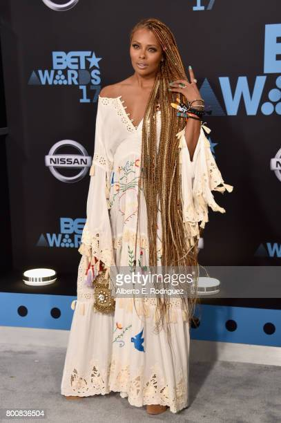 Eva Marcille at the 2017 BET Awards at Microsoft Square on June 25 2017 in Los Angeles California